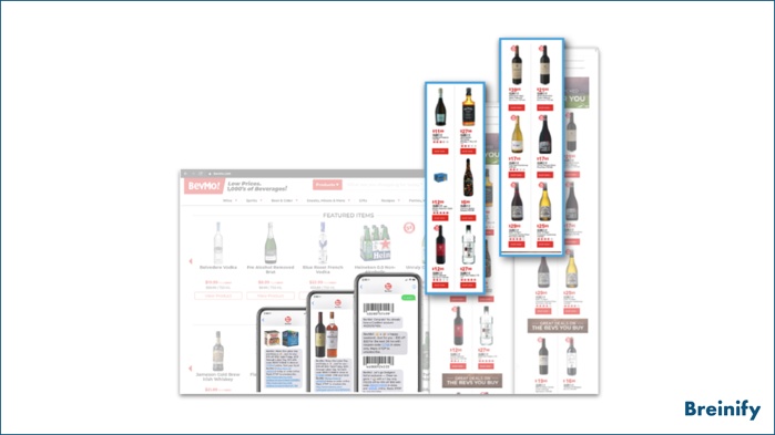 BevMo! SMS, email, and web experiences
